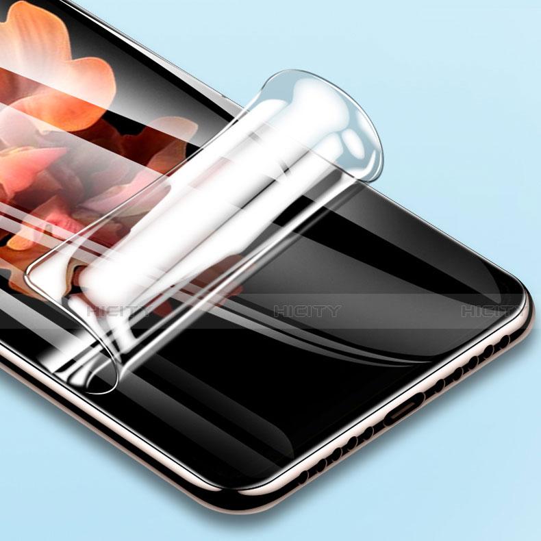 Schutzfolie Schutz Folie Rückseite Skins zum Aufkleben Panzerglas für Samsung Galaxy Z Fold2 5G Klar groß