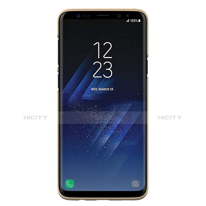 Schutzhülle Kunststoff Hülle Matt M02 für Samsung Galaxy S9 Plus Gold groß