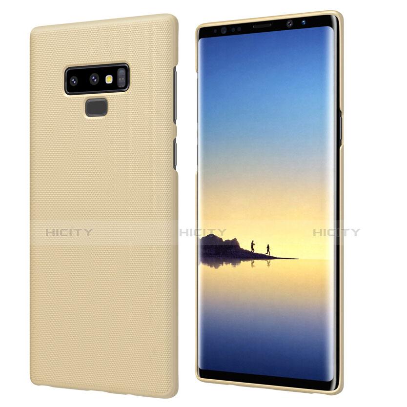 Schutzhülle Kunststoff Hülle Matt M04 für Samsung Galaxy Note 9 Gold Plus