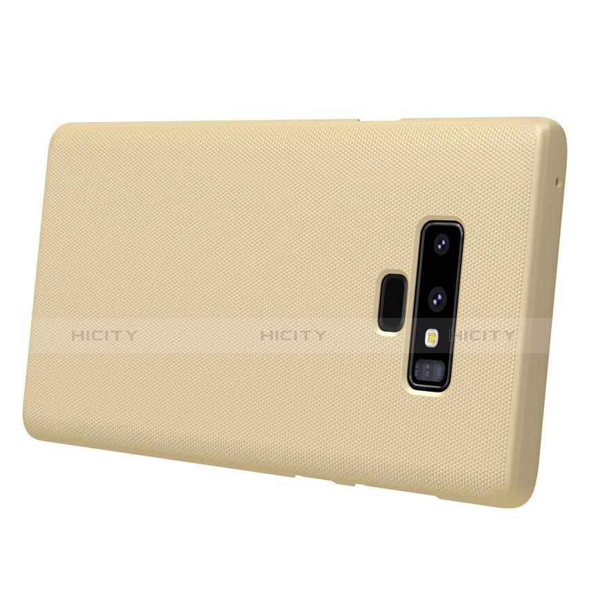 Schutzhülle Kunststoff Hülle Matt M04 für Samsung Galaxy Note 9 Gold groß