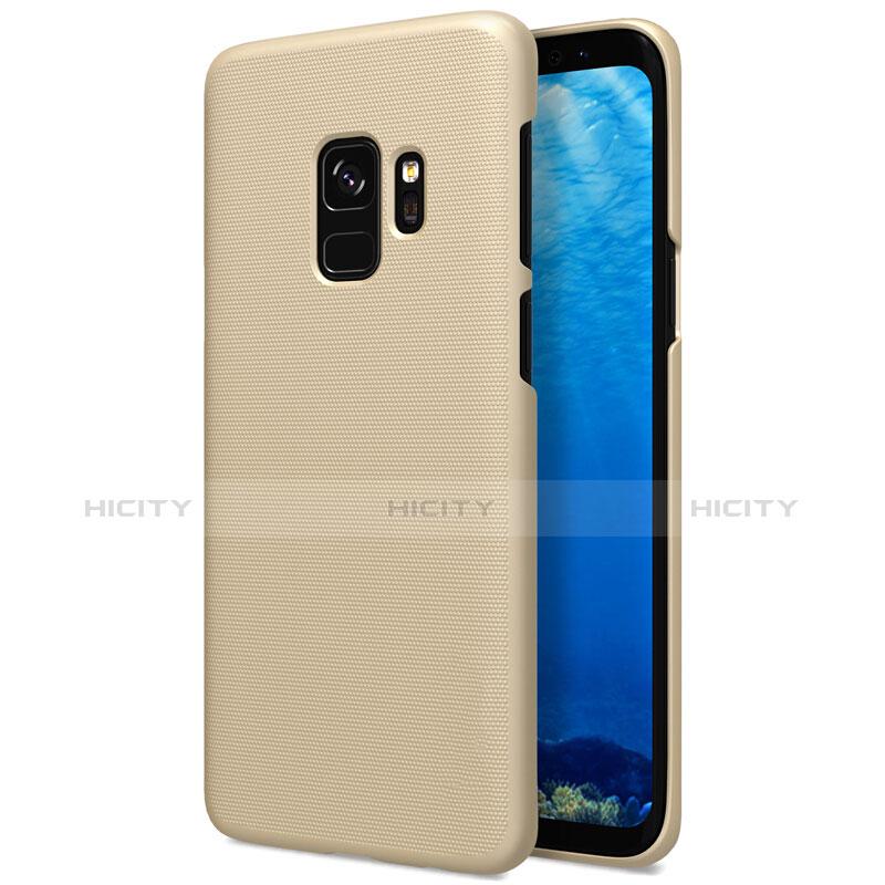 Schutzhülle Kunststoff Hülle Matt M09 für Samsung Galaxy S9 Gold Plus