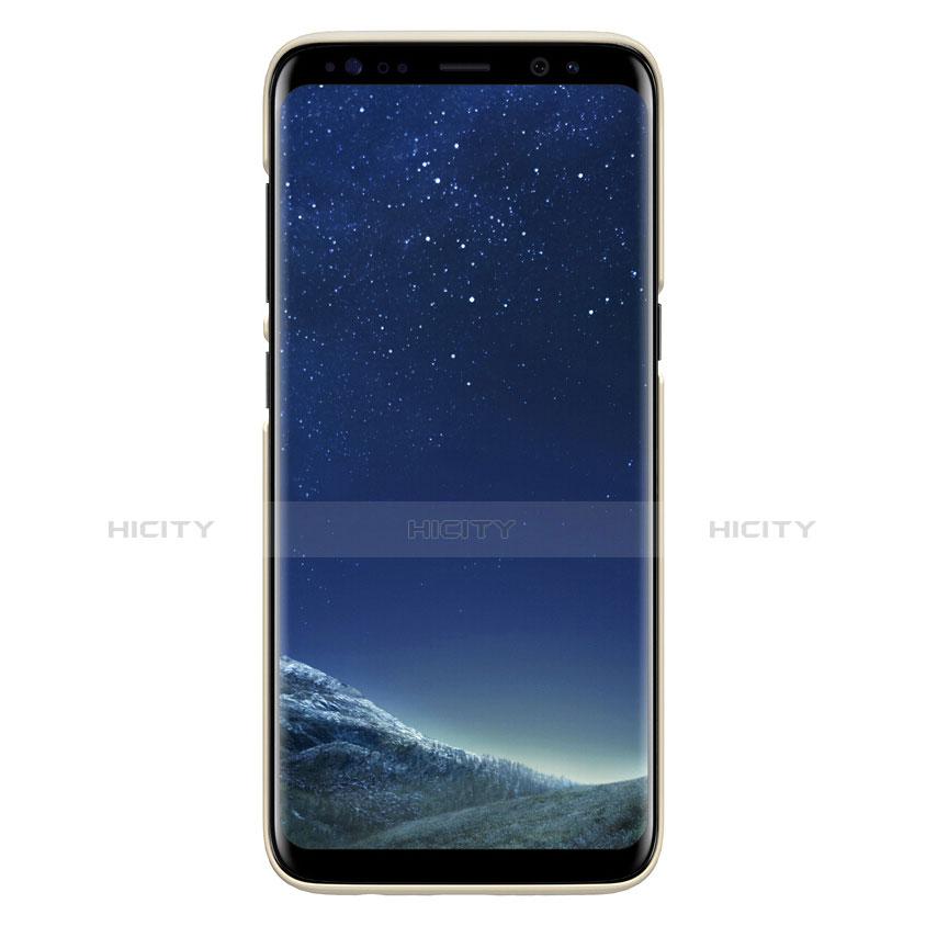 Schutzhülle Kunststoff Hülle Matt P01 für Samsung Galaxy S8 Gold groß