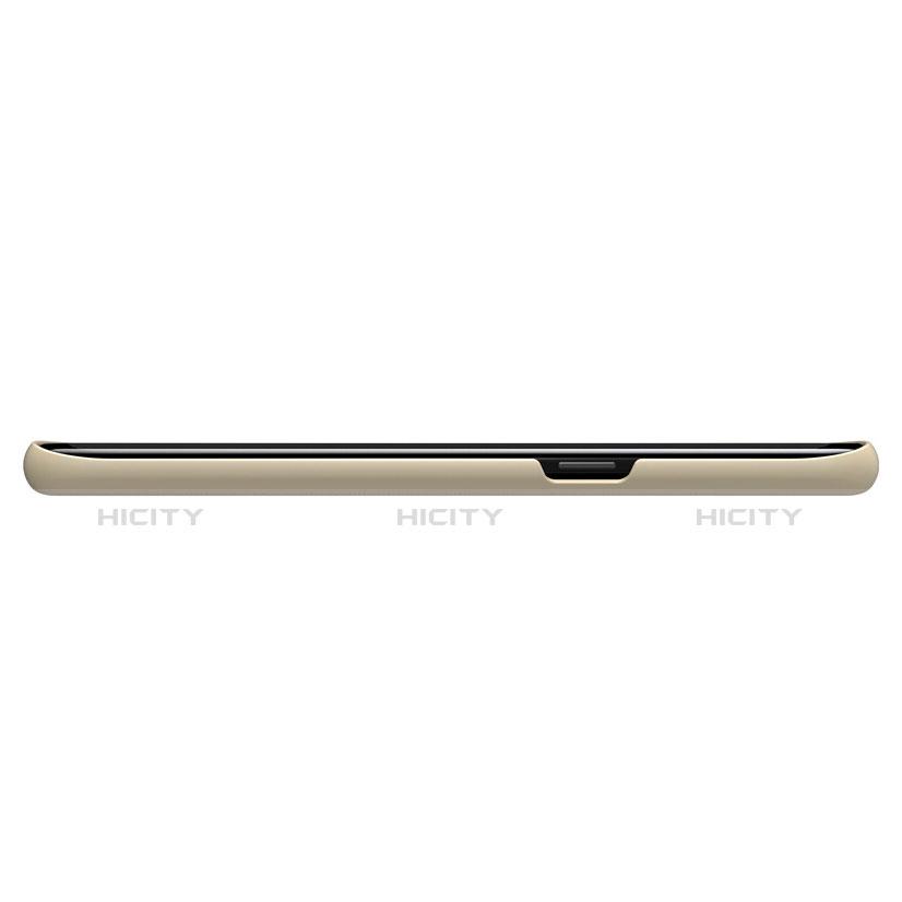 Schutzhülle Kunststoff Hülle Matt P01 für Samsung Galaxy S8 Plus Gold groß