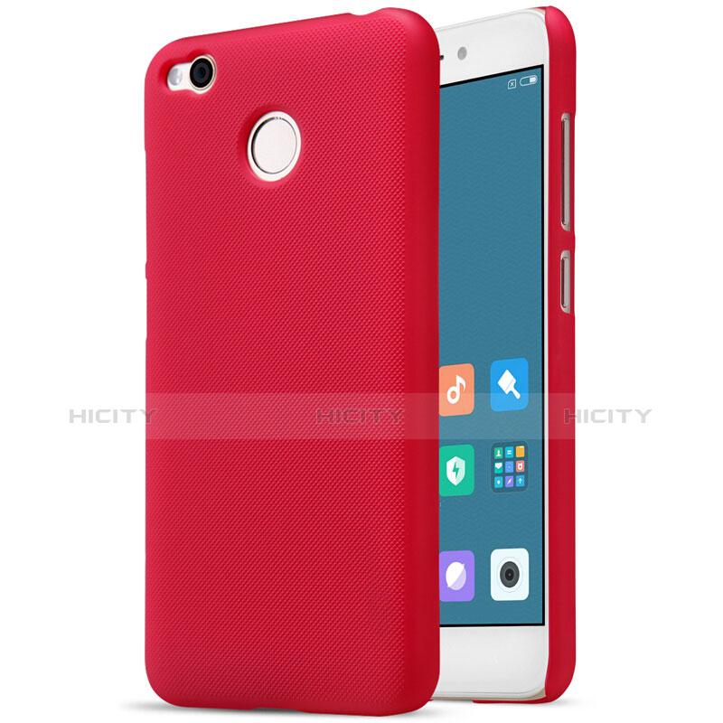 Schutzhülle Kunststoff Hülle Punkte Loch für Xiaomi Redmi 4X Rot Plus