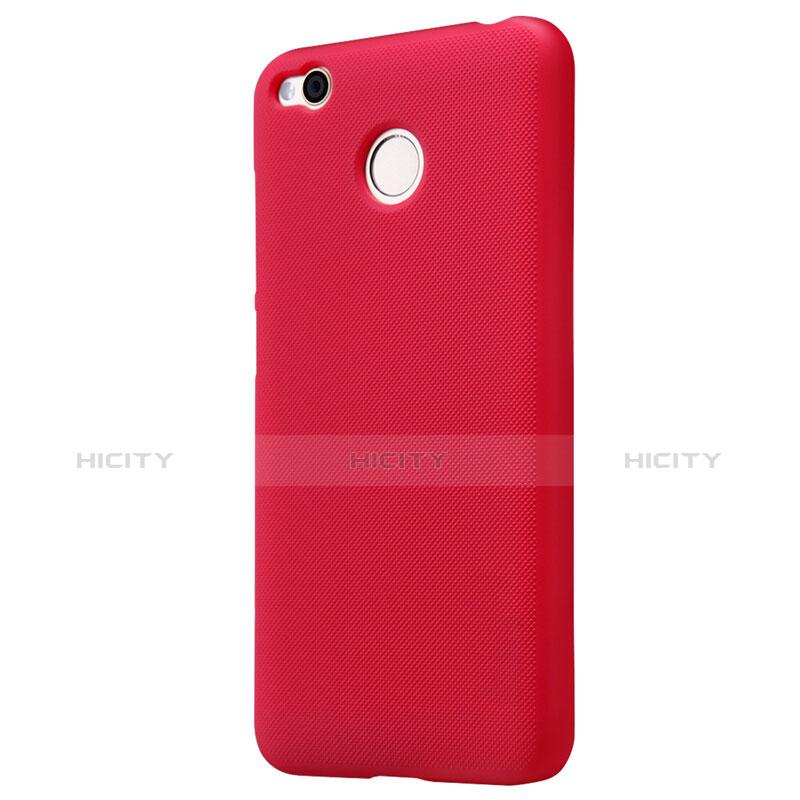 Schutzhülle Kunststoff Hülle Punkte Loch für Xiaomi Redmi 4X Rot groß