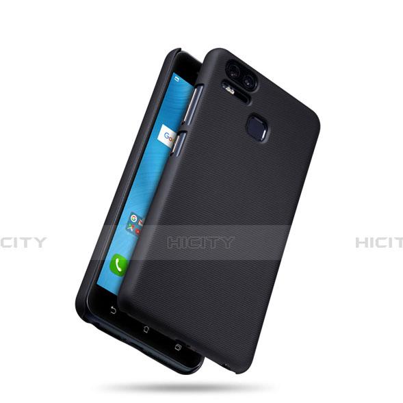 Schutzhülle Kunststoff Tasche Matt für Asus Zenfone 3 Zoom Schwarz groß