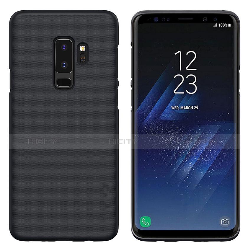 Schutzhülle Kunststoff Tasche Matt M02 für Samsung Galaxy S9 Plus Schwarz Plus