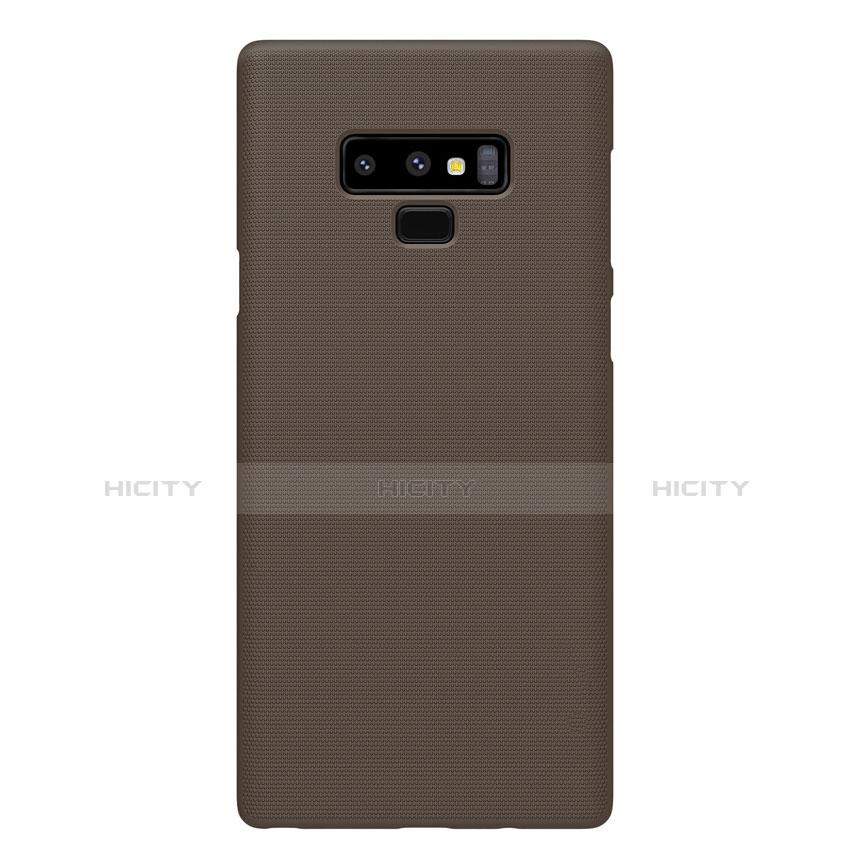 Schutzhülle Kunststoff Tasche Matt M04 für Samsung Galaxy Note 9 Braun groß
