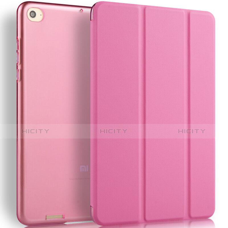 Schutzhülle Stand Tasche Leder L02 für Xiaomi Mi Pad 2 Rosa Plus