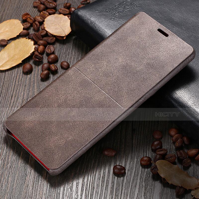 Schutzhülle Stand Tasche Leder L04 für Samsung Galaxy Note 8 Duos N950F Braun