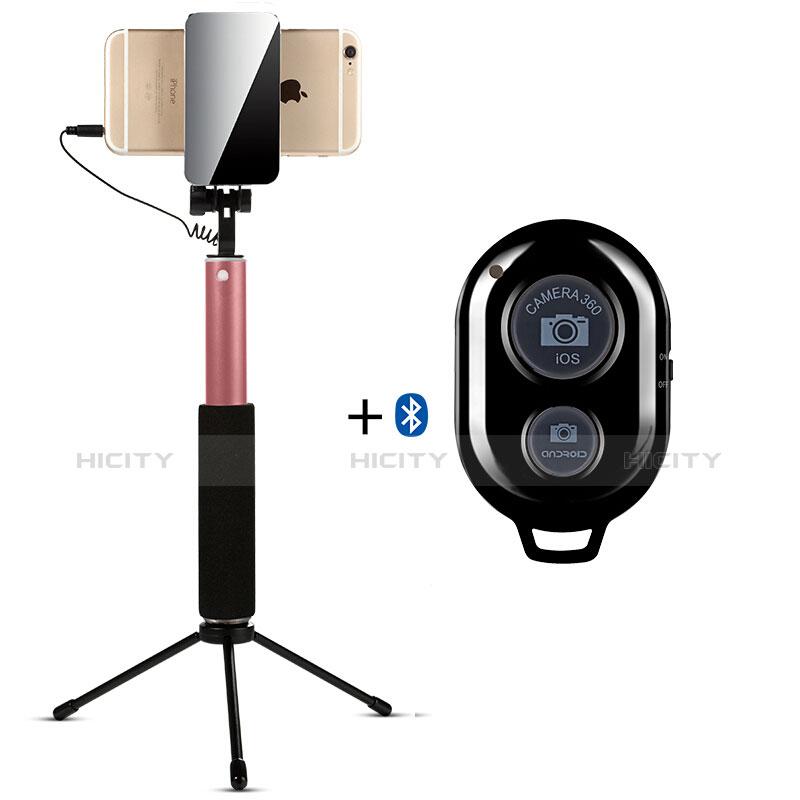Selfie Stick Stange Bluetooth Teleskop Universal S15 Gold Plus