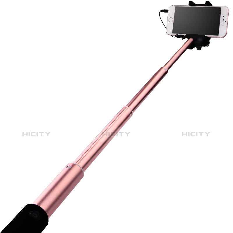 Selfie Stick Stange Bluetooth Teleskop Universal S15 Gold groß
