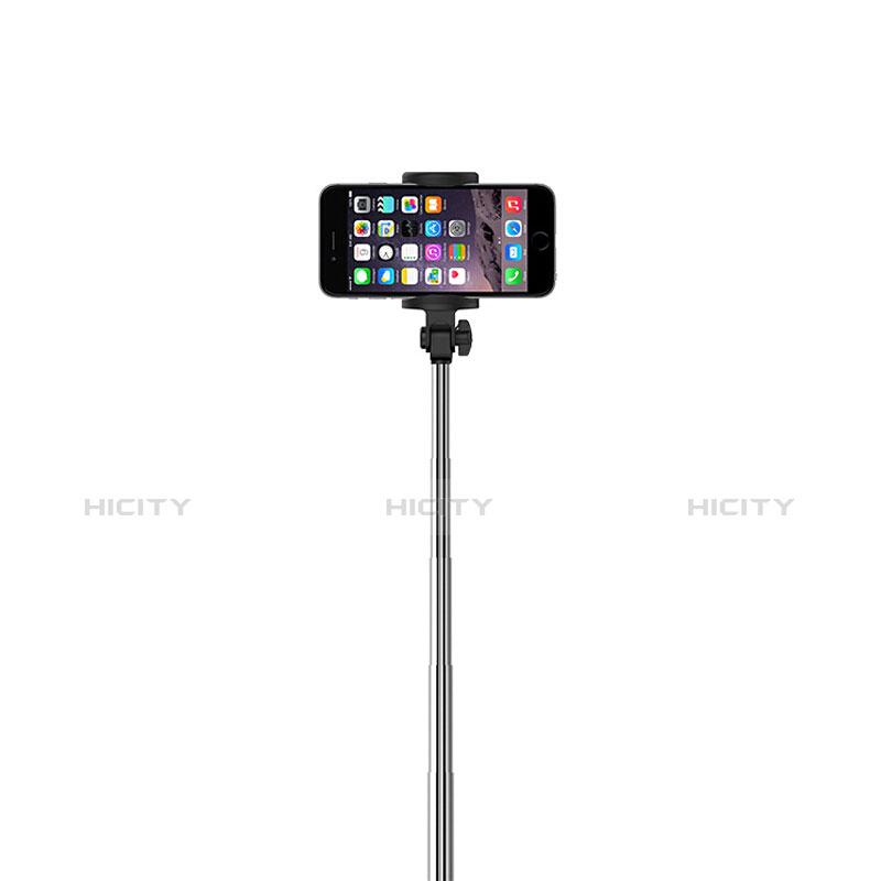 Selfie Stick Stange Bluetooth Teleskop Universal S24 Schwarz groß