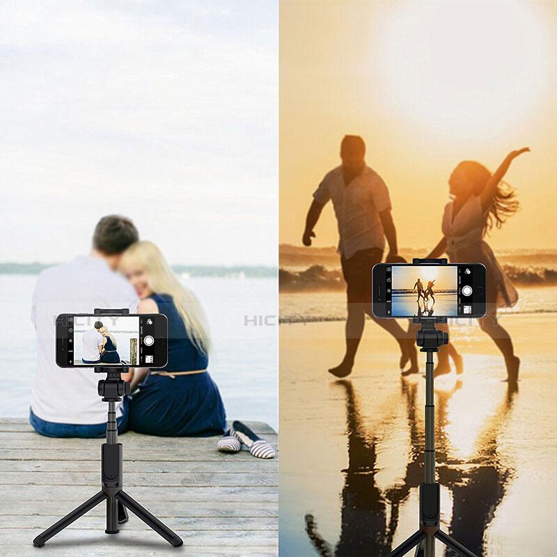 Selfie Stick Stange Bluetooth Teleskop Universal S27 Schwarz groß