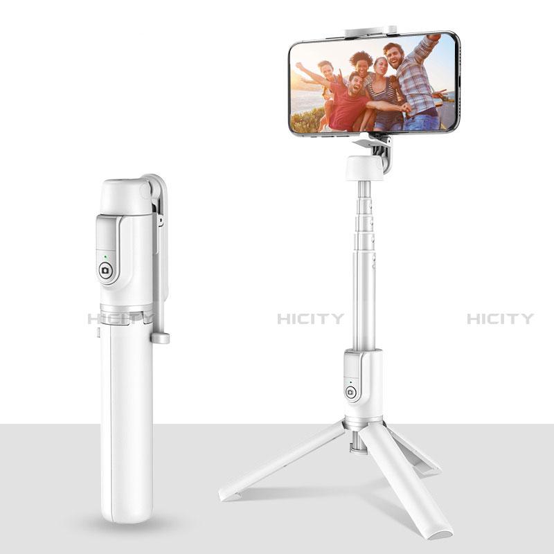 Selfie Stick Stange Stativ Bluetooth Teleskop Universal T28 Weiß Plus