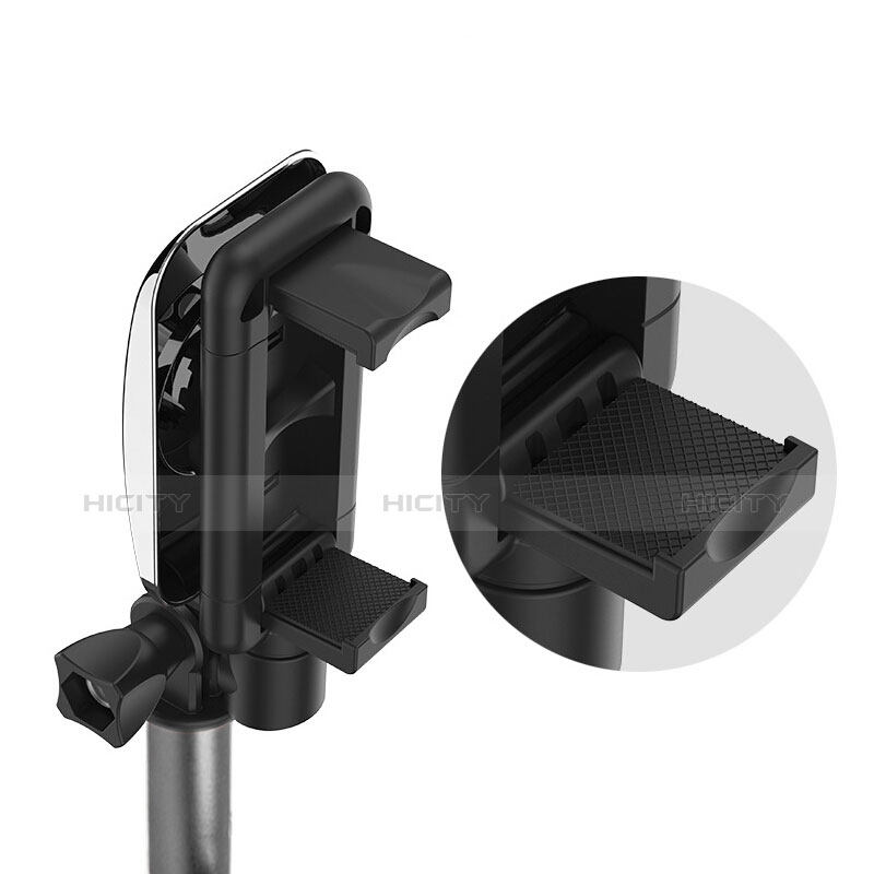 Selfie Stick Stange Verdrahtet Teleskop Universal S11 Grau groß