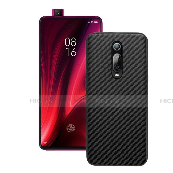 Silikon Hülle Handyhülle Gummi Schutzhülle Flexible Tasche Köper Y01 für Xiaomi Mi 9T Pro Schwarz Plus