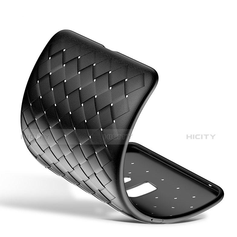 Silikon Hülle Handyhülle Gummi Schutzhülle Köper für Samsung Galaxy S9 Plus Schwarz groß
