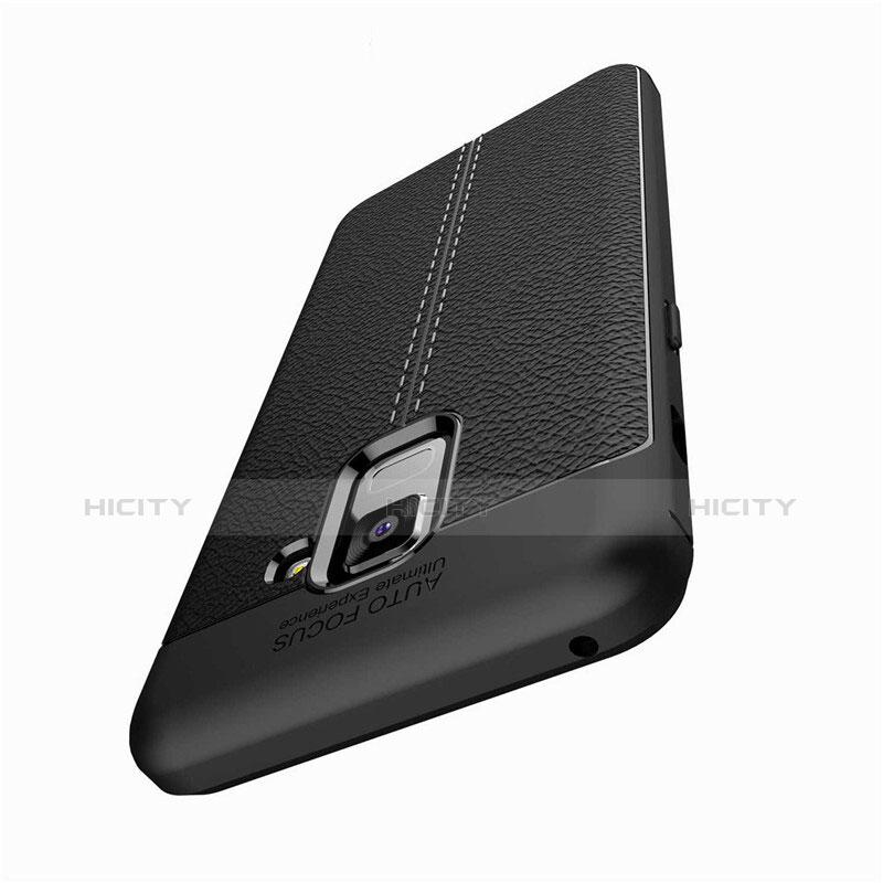 Silikon Hülle Handyhülle Gummi Schutzhülle Leder Tasche für Samsung Galaxy A5 (2018) A530F groß