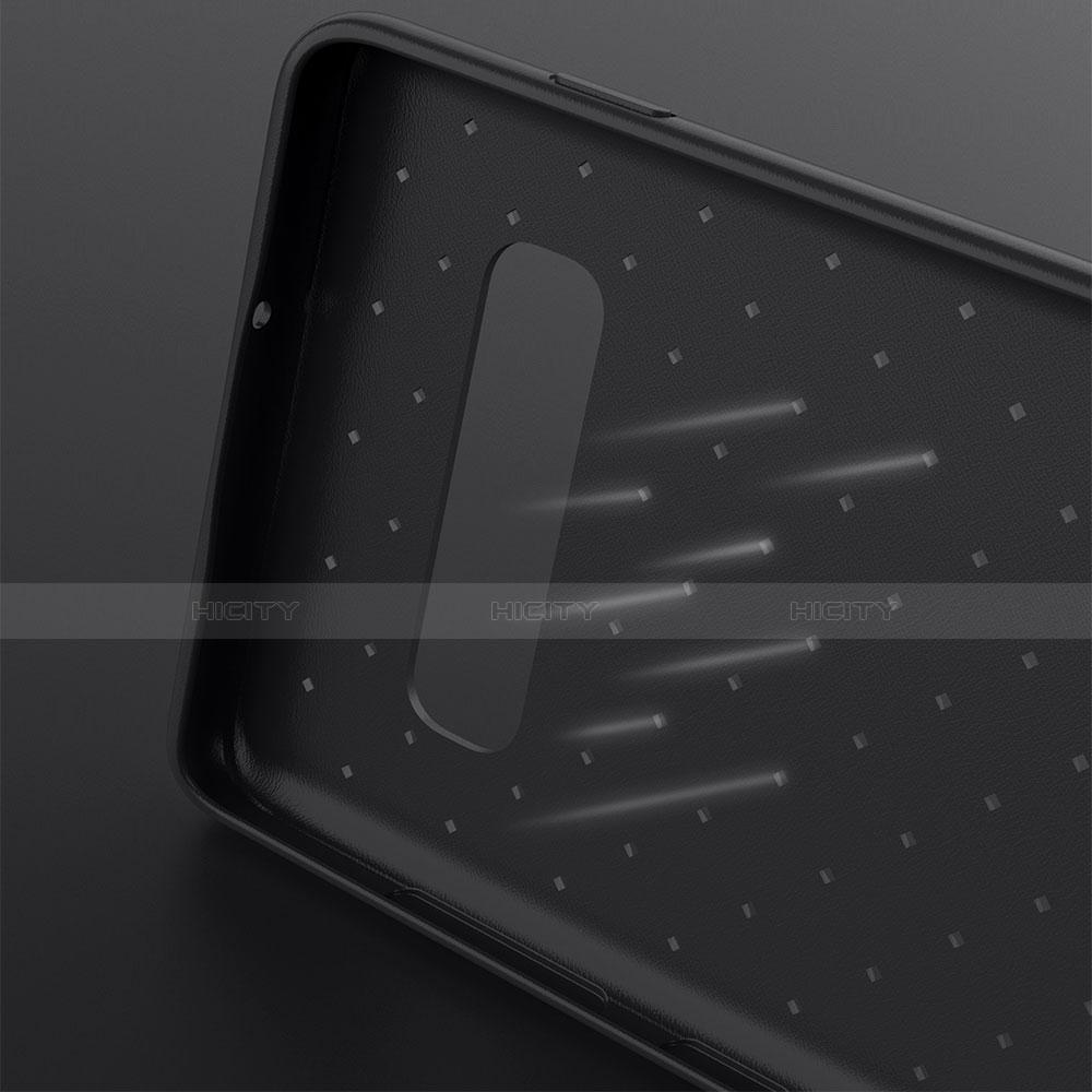 Silikon Hülle Handyhülle Gummi Schutzhülle Leder Tasche für Samsung Galaxy S10 Plus groß