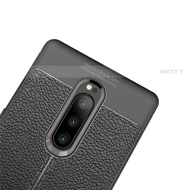 Silikon Hülle Handyhülle Gummi Schutzhülle Leder Tasche für Sony Xperia XZ4 groß