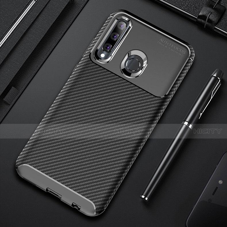 Silikon Hülle Handyhülle Gummi Schutzhülle Tasche Köper für Huawei Honor 20 Lite groß