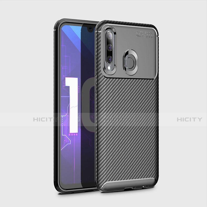 Silikon Hülle Handyhülle Gummi Schutzhülle Tasche Köper für Huawei Honor 20 Lite Schwarz