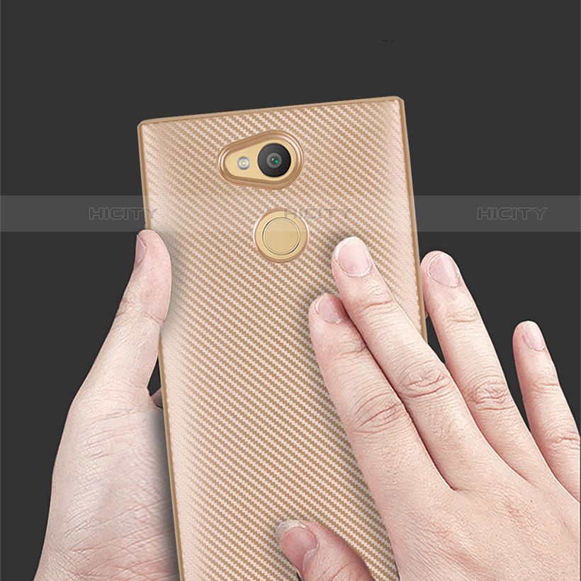 Silikon Hülle Handyhülle Gummi Schutzhülle Tasche Köper für Sony Xperia L2 groß