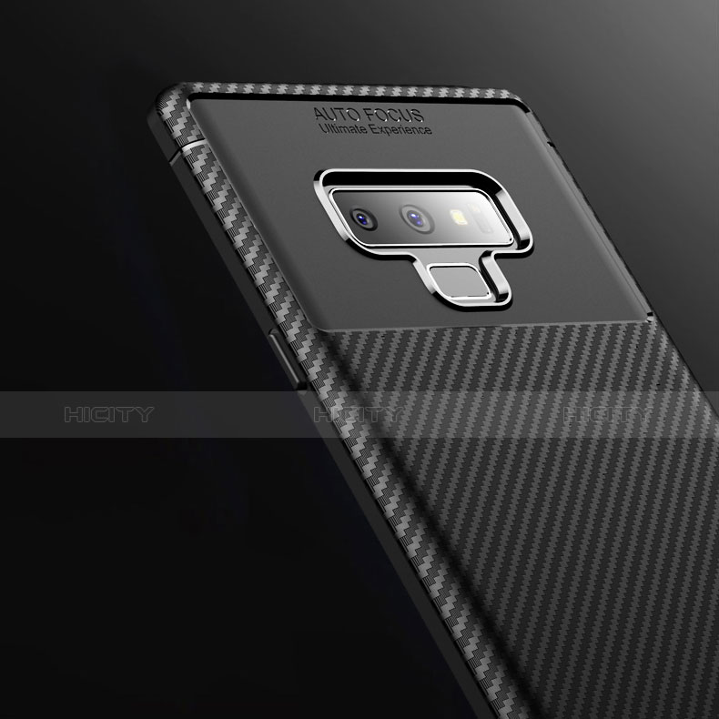 Silikon Hülle Handyhülle Gummi Schutzhülle Tasche Köper T01 für Samsung Galaxy Note 9 groß