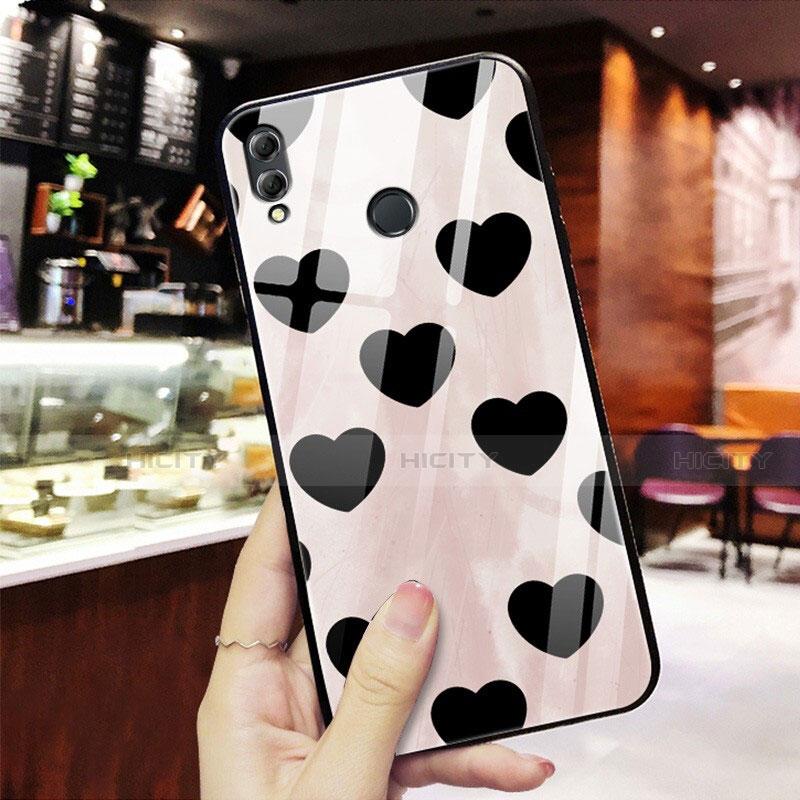 Silikon Hülle Handyhülle Rahmen Schutzhülle Spiegel Liebe Herz S03 für Huawei Honor 8X Rot Plus
