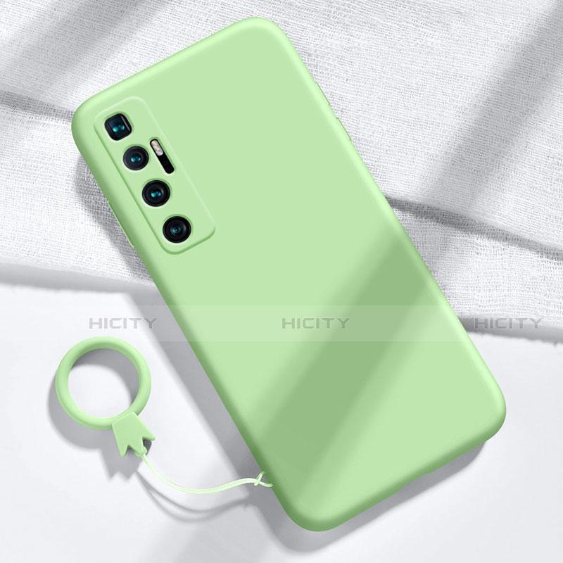 Silikon Hülle Handyhülle Ultra Dünn Flexible Schutzhülle 360 Grad Ganzkörper Tasche für Xiaomi Mi 10 Ultra Minzgrün Plus