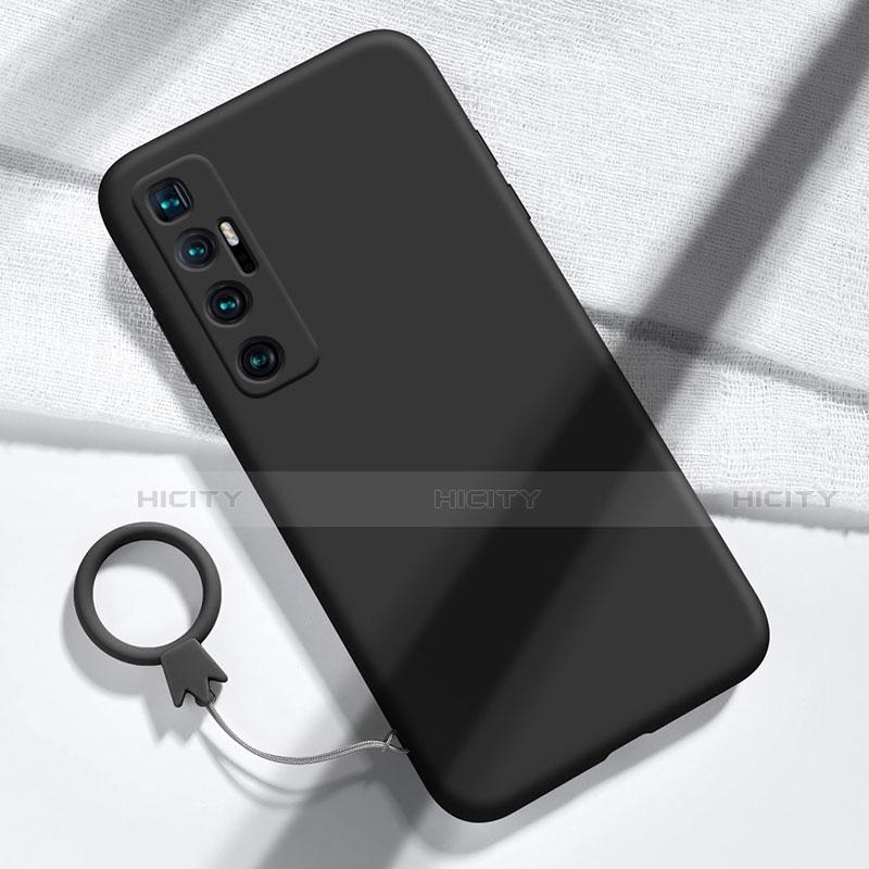 Silikon Hülle Handyhülle Ultra Dünn Flexible Schutzhülle 360 Grad Ganzkörper Tasche für Xiaomi Mi 10 Ultra Schwarz Plus