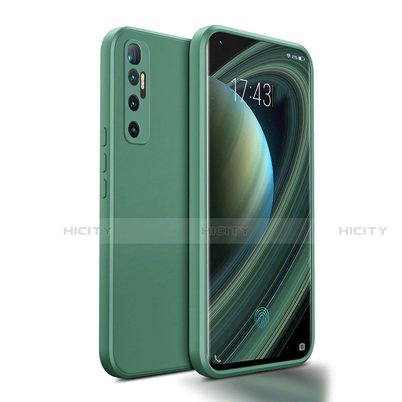 Silikon Hülle Handyhülle Ultra Dünn Flexible Schutzhülle 360 Grad Ganzkörper Tasche S01 für Xiaomi Mi 10 Ultra Nachtgrün Plus