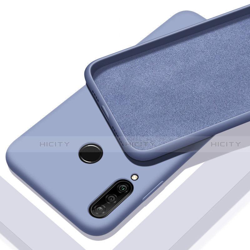 Silikon Hülle Handyhülle Ultra Dünn Schutzhülle 360 Grad Tasche für Huawei Honor 20 Lite Hellblau Plus