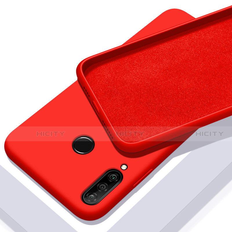 Silikon Hülle Handyhülle Ultra Dünn Schutzhülle 360 Grad Tasche für Huawei Honor 20 Lite Rot