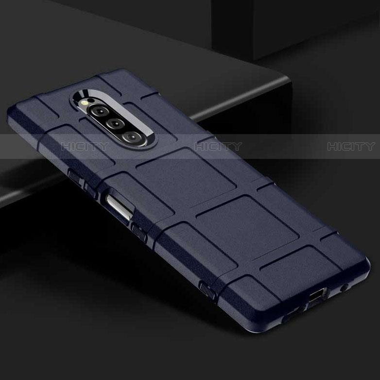Silikon Hülle Handyhülle Ultra Dünn Schutzhülle 360 Grad Tasche für Sony Xperia XZ4 groß