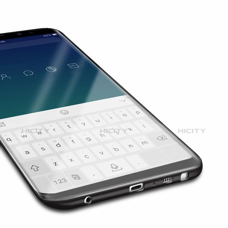 Silikon Hülle Handyhülle Ultra Dünn Schutzhülle für Samsung Galaxy Note 9 Schwarz Plus