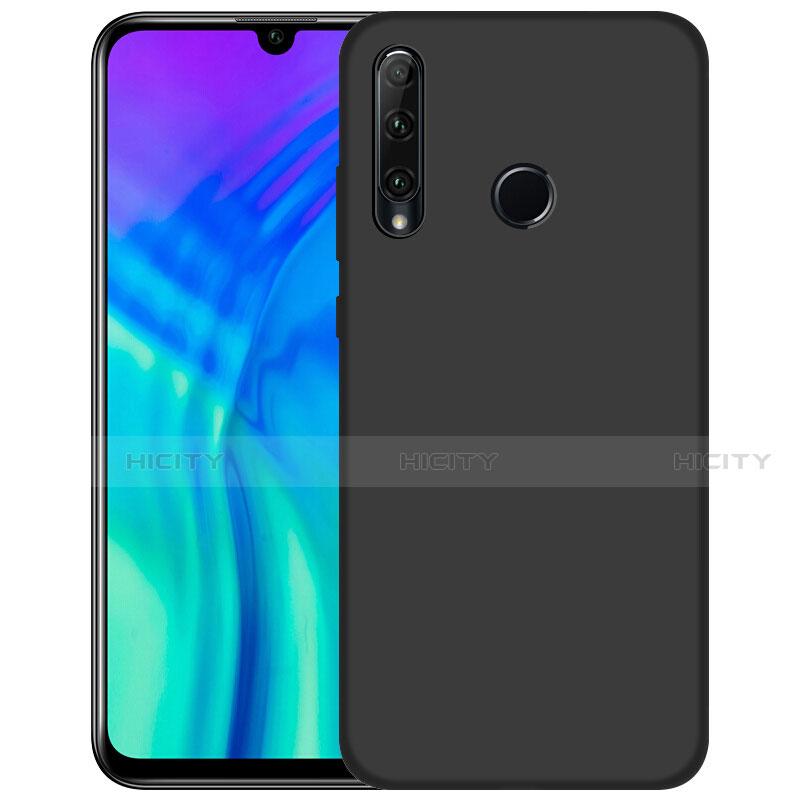 Silikon Hülle Handyhülle Ultra Dünn Schutzhülle S02 für Huawei Honor 20 Lite Schwarz