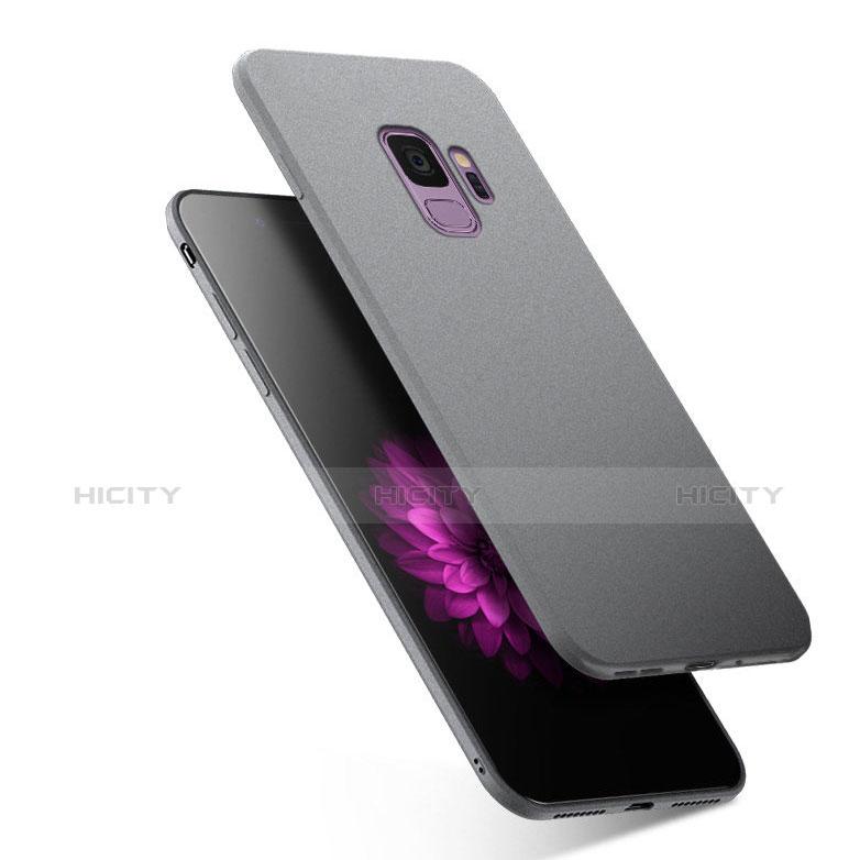 Silikon Hülle Handyhülle Ultra Dünn Schutzhülle S02 für Samsung Galaxy S9 Grau Plus