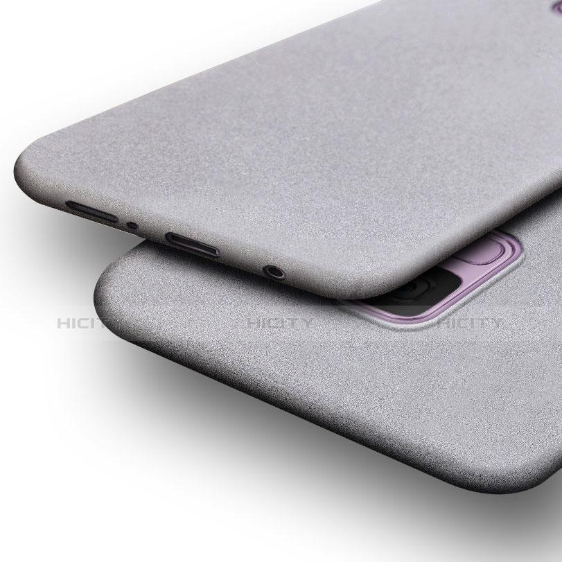 Silikon Hülle Handyhülle Ultra Dünn Schutzhülle S02 für Samsung Galaxy S9 Grau groß