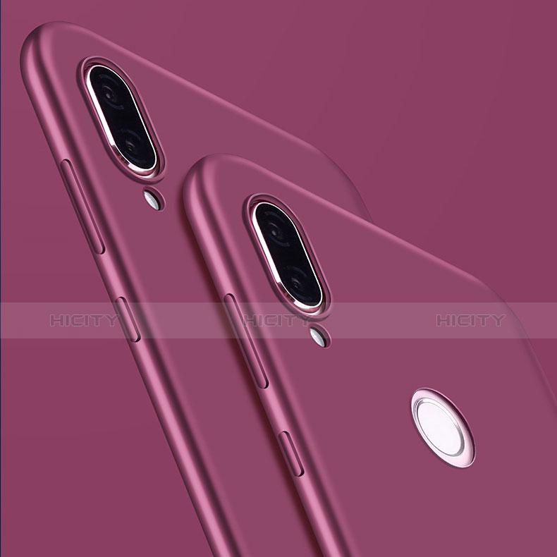 Silikon Hülle Handyhülle Ultra Dünn Schutzhülle S03 für Huawei P20 Lite Violett groß