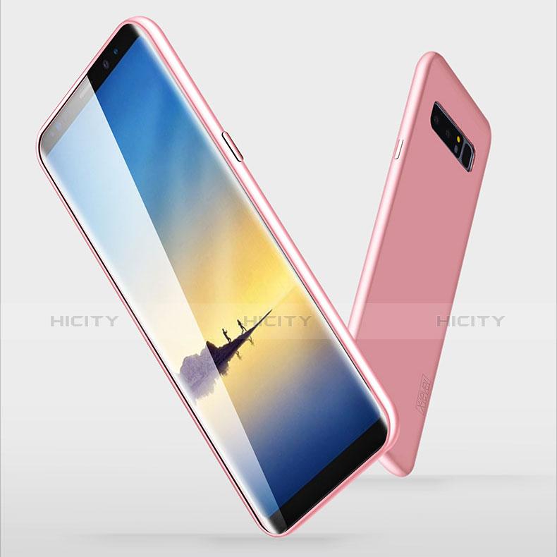 Silikon Hülle Handyhülle Ultra Dünn Schutzhülle S06 für Samsung Galaxy Note 8 Rosa Plus