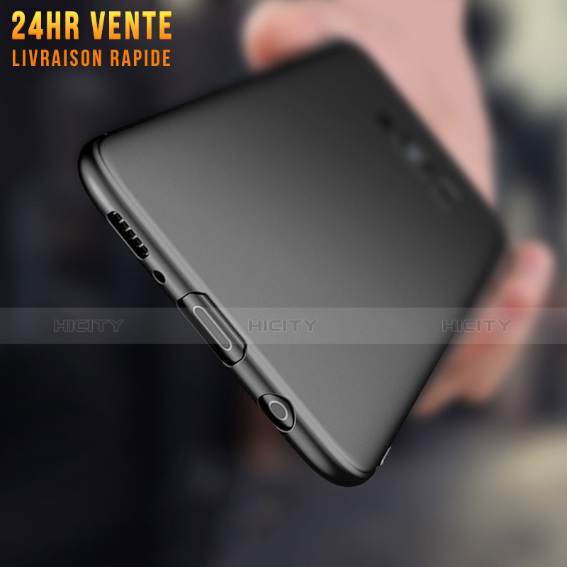 Silikon Hülle Handyhülle Ultra Dünn Schutzhülle S07 für Samsung Galaxy S8 Schwarz Plus