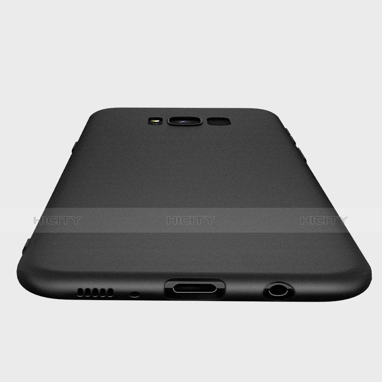 Silikon Hülle Handyhülle Ultra Dünn Schutzhülle S09 für Samsung Galaxy S8 Plus Schwarz groß