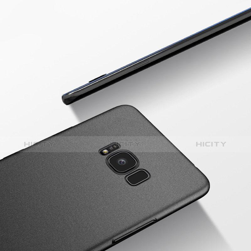 Silikon Hülle Handyhülle Ultra Dünn Schutzhülle S10 für Samsung Galaxy S8 Plus Schwarz groß