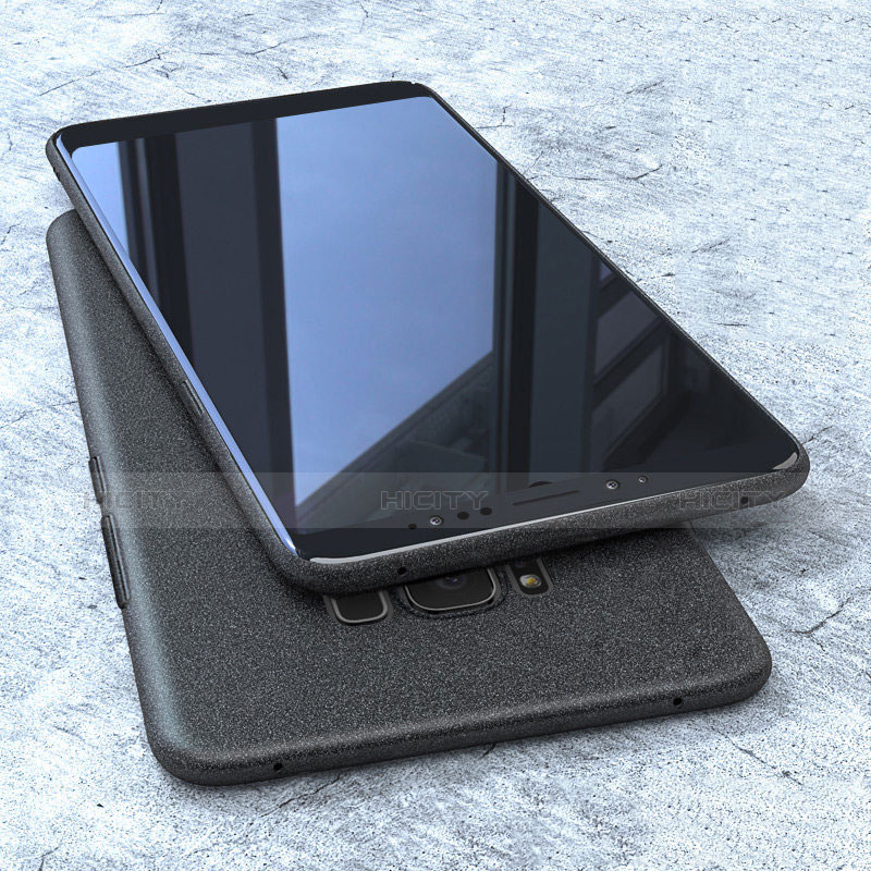 Silikon Hülle Handyhülle Ultra Dünn Schutzhülle S10 für Samsung Galaxy S8 Schwarz Plus