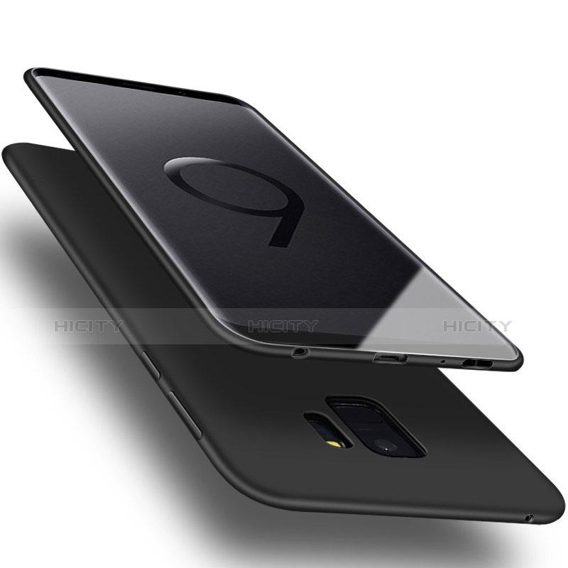 Silikon Hülle Handyhülle Ultra Dünn Schutzhülle Tasche S01 für Samsung Galaxy S9 groß