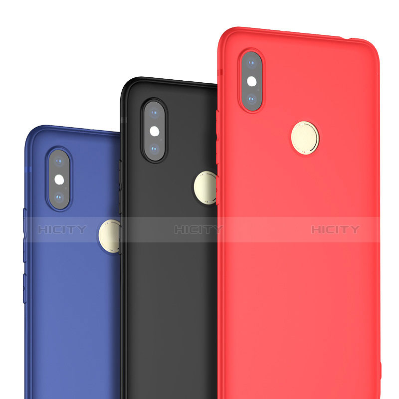 Silikon Hülle Handyhülle Ultra Dünn Schutzhülle Tasche S02 für Xiaomi Redmi S2 groß