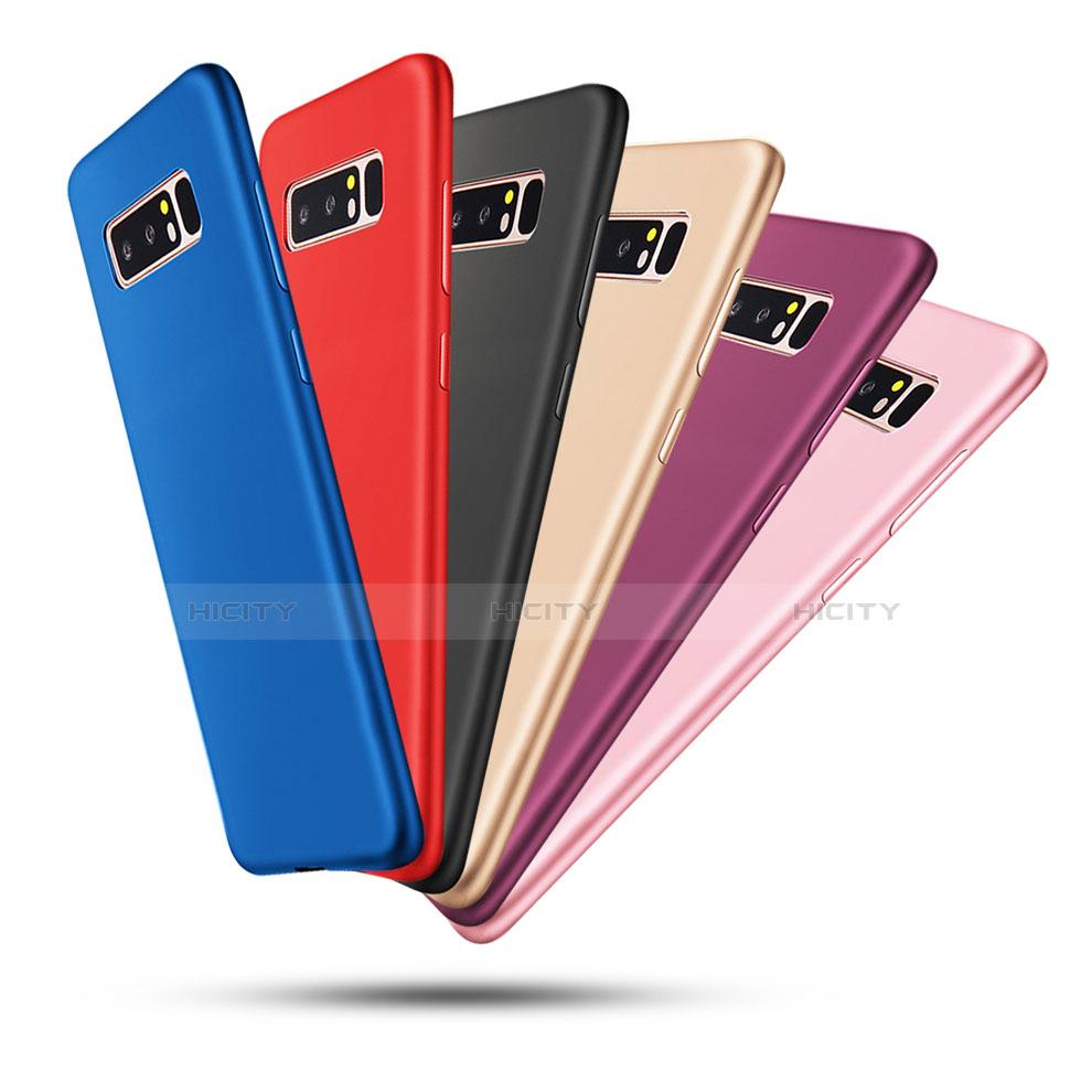 Silikon Hülle Handyhülle Ultra Dünn Schutzhülle Tasche S05 für Samsung Galaxy Note 8 groß