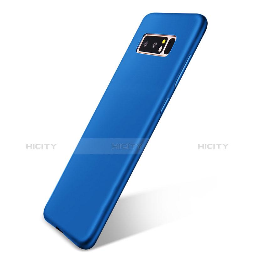 Silikon Hülle Handyhülle Ultra Dünn Schutzhülle Tasche S05 für Samsung Galaxy Note 8 Duos N950F Blau Plus
